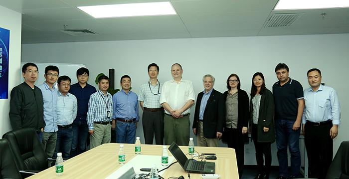 美国卡耐基梅隆大学计算机科学学院院长Andrew Moore 来校访问.jpg